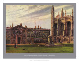King&#39;s College Chapel and the Fellow&#39;s Building Prints