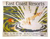 East Coast Resorts Print