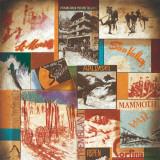 Ski Lodges Print by Val Bustamonte