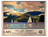 The Lake District Posters