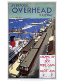 Liverpool Overhead Railways Poster