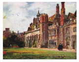Peterhouse from Fellows Garden Posters
