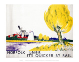 Norfolk Big Yellow Tree Print