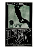 The Flying Scotsman's Cocktail Bar Print