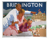 Bridlington Pointing Man Poster