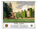 Rugby School Poster