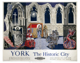 York the Historic City Prints