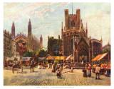 Market Square Cambridge Prints