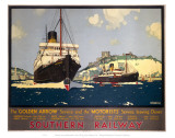 Southern Railway Ships Affiches