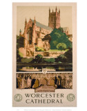 Worchester Cathedral Print