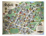 Oxford Map Posters