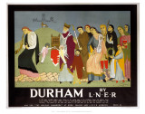 Durham by LNER Posters
