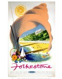 Folkestone in a Shell Prints