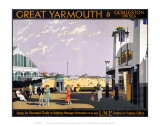 Great Yarmouth Sea Front Print