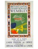 British Empire Exhibition Prints