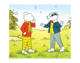 Rupert Bear and Bill Badger Pósters
