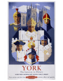 York, The Gaitway to History Posters