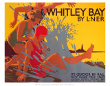 Whitley Bay by LNER Print