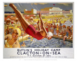 Butlins Clacton Prints