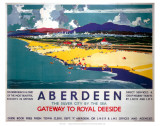 Aberdeen by the Sea Print