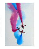 Red Arrow Display Team Poster