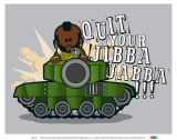 Weenicons: Quit Your Jibba Jabba Prints
