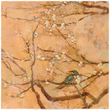 Birds and Blossoms II Prints by Jill Barton