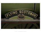 Flying Scotsman Sign Posters