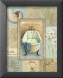 Tranquil Bath II Prints by Lisa Audit