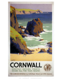 Cornwall Rocky Beach Affiches
