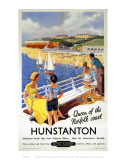 Hunstanton Queen of the Norfolk Coast Posters