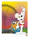 Danger Mouse Prints by Cosgrove Hall