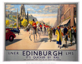 LNER Edinburgh - Art Print