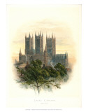 Lincoln Cathedral Prints by Arthur Wilde Parsons