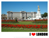 Buckingham Palace, I Love London Art