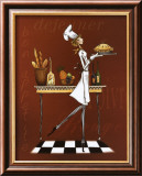 Sassy Chef I Kunstdrucke von Mara Kinsley