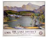 The Lake District LMS Plakaty