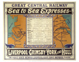 Sea to Sea Express Poster