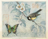 Bluebird and Butterfly Posters by Susan Winget