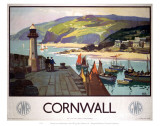 Cornwall GWR Posters