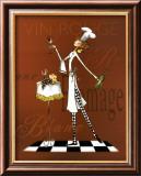 Sassy Chef II Kunstdruck von Mara Kinsley