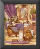 Viktorianisches Badezimmer II Poster von Jerianne Van Dijk