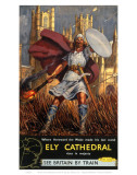 Hereward the Wake Ely Cathedral Art