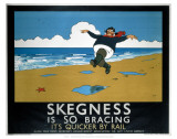 Skegness Is So Bracing Print