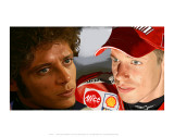 Valentino Rossi Prints by Ron Fisher