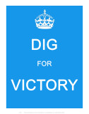 Dig for Victory Pósters