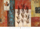 Patina Garden I Prints by Jodi Reeb-myers