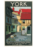 York, Centre of Glorious Holiday Poster