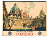This England of Ours Oxford Poster