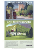 The Surry Towns and North Downs Prints
